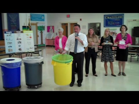 Executive Ulman Launches Food Scrap Collection at Pointers Run Elementary School