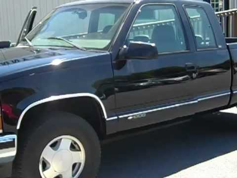 1998 Chevrolet 1500 Ext Cab 4X4  YouTube