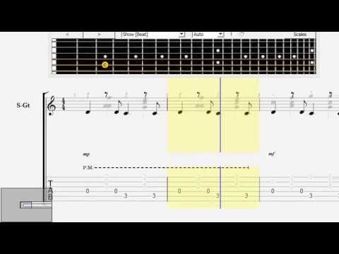 Some Body That I Used To Know Mike Dawes Free Guitar Tab Youtube