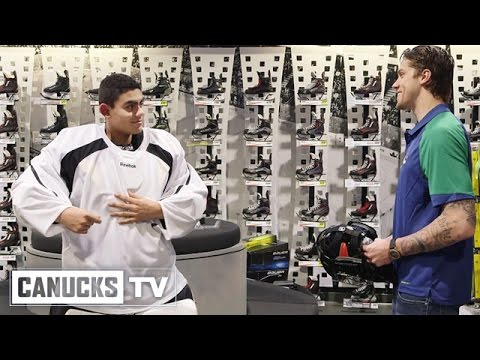 Jacob Markstrom Surprises Young Goalie With New Gear