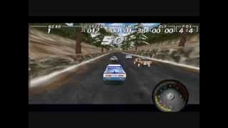 World Wide Rally Championship - intro + game play