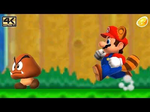 Citra 3DS Emulator - New Super Mario Bros. 2 Gameplay 4K 2160p (Canary Build - 33e81ef)
