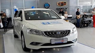 Geely Emgrand GT 2.4 л AT6 .  148 л.с.   2017 : Первое знакомство .