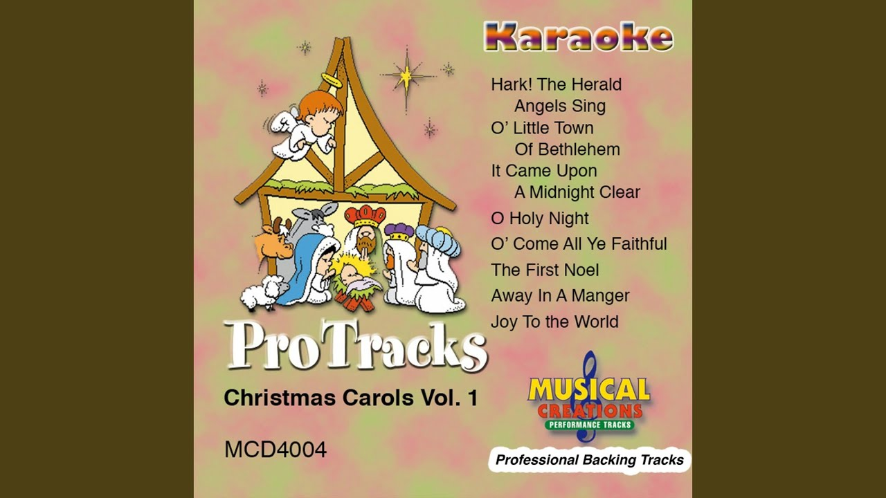 Karaoke Christmas Musical.O Come All Ye Faithful In The Style Of Christmas Karaoke Version Instrumental Only