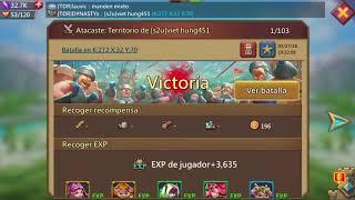 Lords mobile (español) DYNASTYx TDR