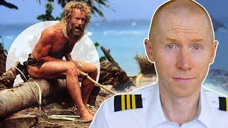 Cast Away Movie Plane Crash Scene : Hollywood vs Reality