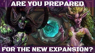How to prepare for the new Hearthstone expansion!