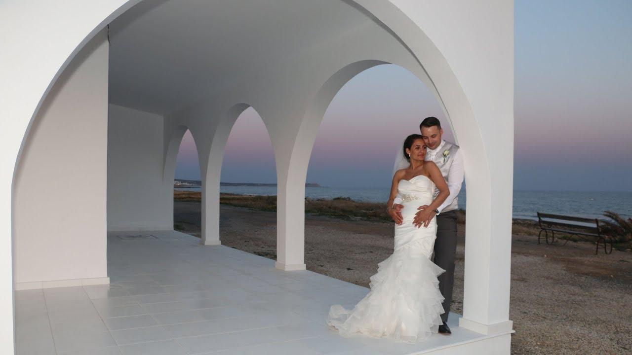 The Cyprus Wedding Of Paolina And Luke Atlantica Aeneas Garden Eden Ayia Napa You