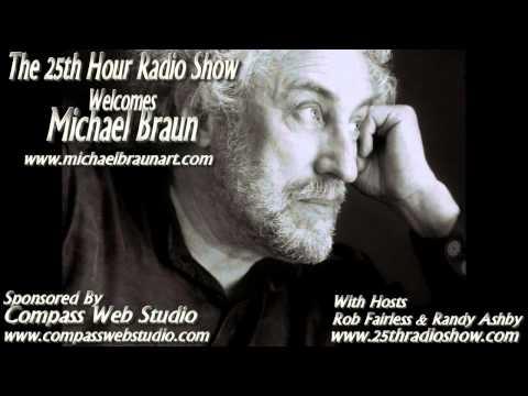 Michael Braun - ClothingDigital Designer - Jimi Hendrix & Randy Savage - The 25th Hour Radio Show