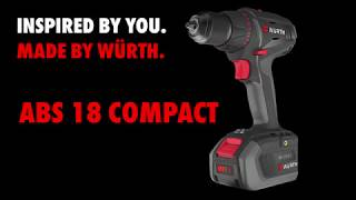 Würth M-Cube ABS 18 Compact Perceuse-visseuse sans fil