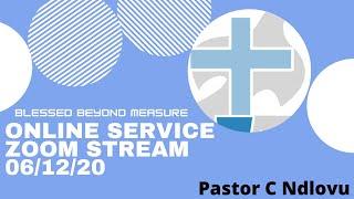 Pastor C Ndlovu   6 Dec 2020