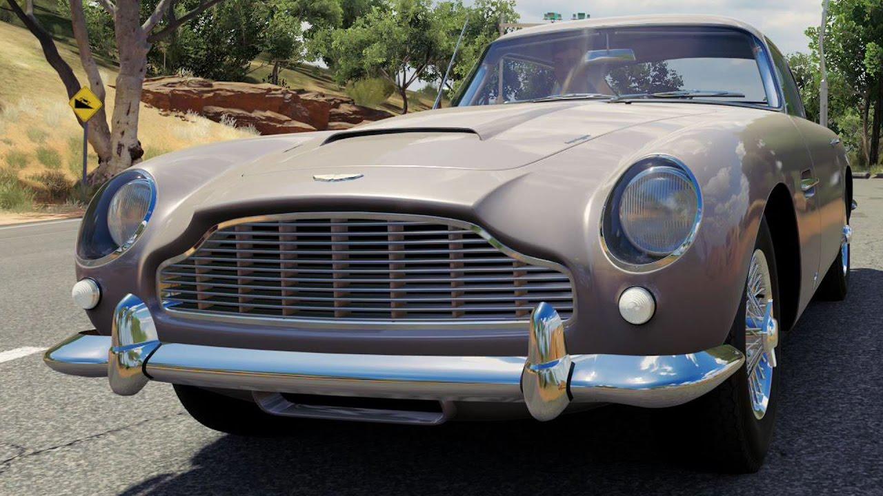 aston martin db5 1964 - forza horizon 3 - test drive free roam