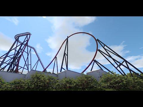 RiverPoint Diablo Dive Coaster : Nolimits 2