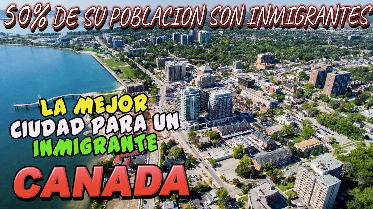 LA MEJOR CIUDAD PARA NUEVOS INMIGRANTES 2021 - TOP'S CANADA
