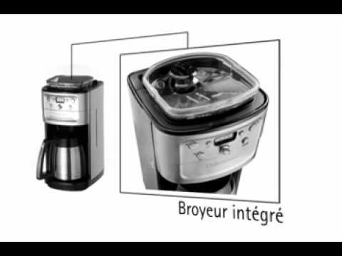 machine caf avec broyeur int gr par youtube