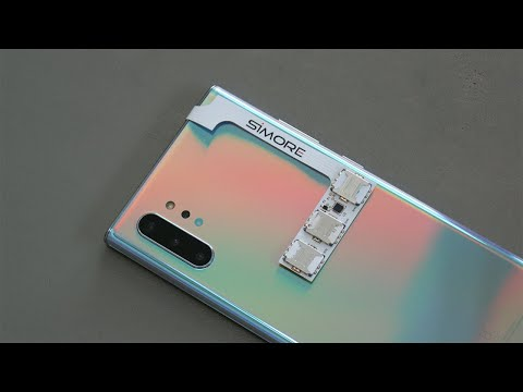 Galaxy Note 10+ With 3 SIM Cards Using SIMore Speed ZX-Triple Galaxy Note 10+ Adapter