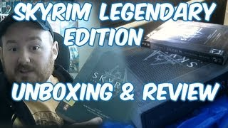 Skyrim Legendary Edition PS3 and Strategy Guide Unboxing + Review!