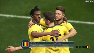 Swiss Vs Belgia | Switzerland Vs Belgium UEFA NATION LEAGUE 2018 | PREDIKSI BY PES 2019 |  EPIC GAME