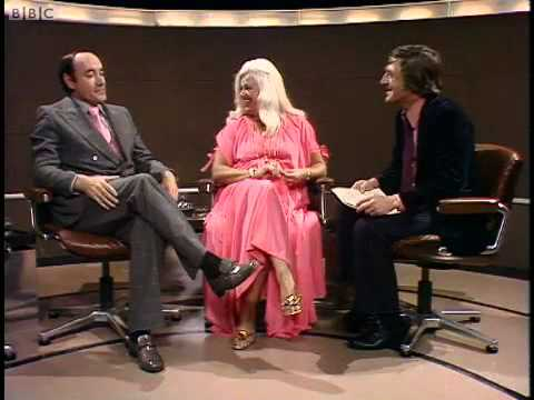 Diana Dors, Knneth Williams and Desmond Wilcox on Parkinson show 1971