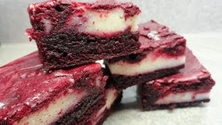 Red Velvet Espresso Brownies