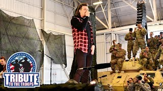 "Morgan Wallen performs their hit song ""Up Down"": WWE Tribute to the Troops, Dec. 20, 2018"