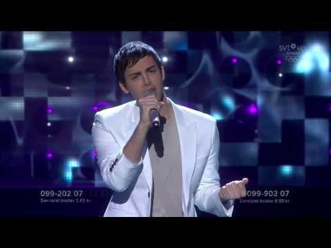 7. Darin - You're Out Of My Life (Melodifestivalen 2010 Deltävling 3) 720p HD