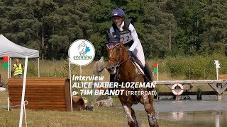 Gambar cover Interview Alice Naber & Tim Brandt - Eventing Emmeloord 2019