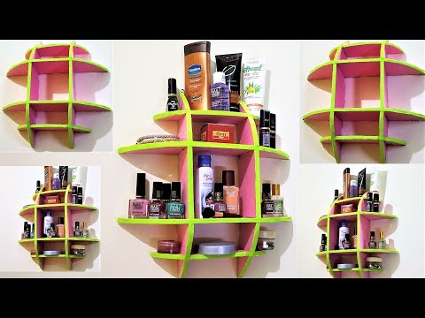 DIY Multipurpose Wall Mount Rack | Household Organizations | Best Out Of Waste Material