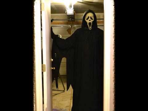 Ghostface Replica Costume Scream