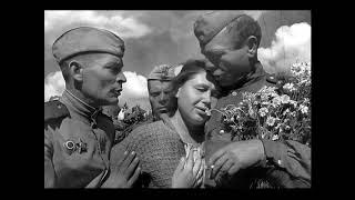 Шли с войны домой советские солдаты