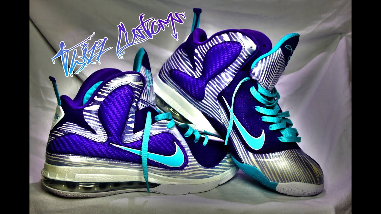 "Nike Lebron 9 Summit Lake Hornets ""Woody"" by Twizz Customs ..."