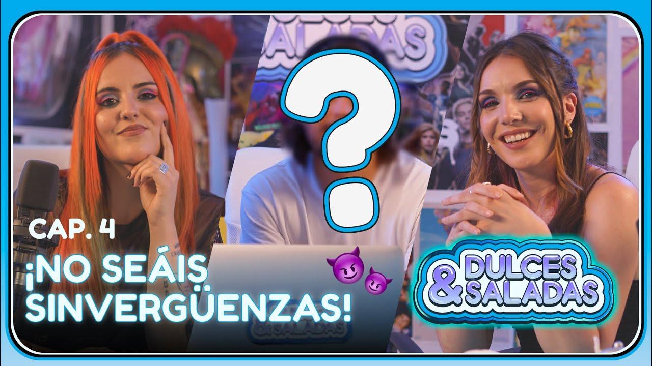 ¿Cuántos amigos tiene nuestro invitado? ft. Andrea Compton & Inés Hernand | #DulcesySaladas Cap.4