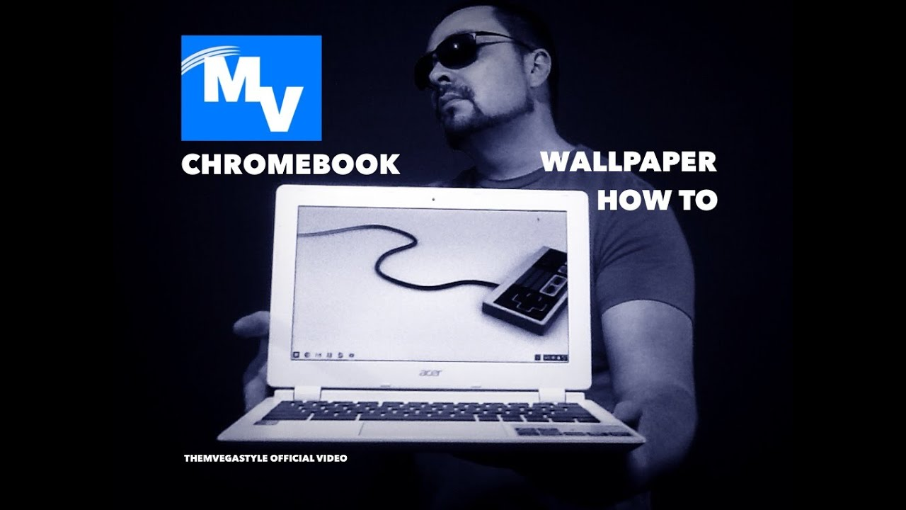 how to change wallpaper on chromebook laptop