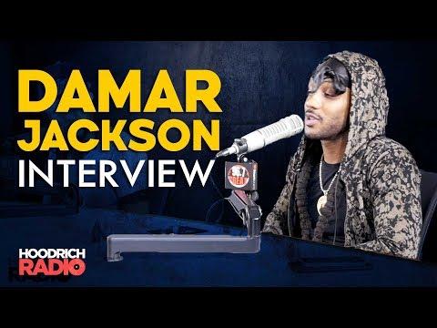 DJ Scream - Damar Jackson Hoodrich Radio Interview with DJ Scream