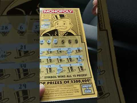 New MONOPOLY ticket from PA LOTTERY!!  BIG ZEROS?!