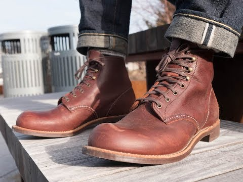 Red Wing Blacksmith Boot Review - The Ultimate Plain Toe Boot?