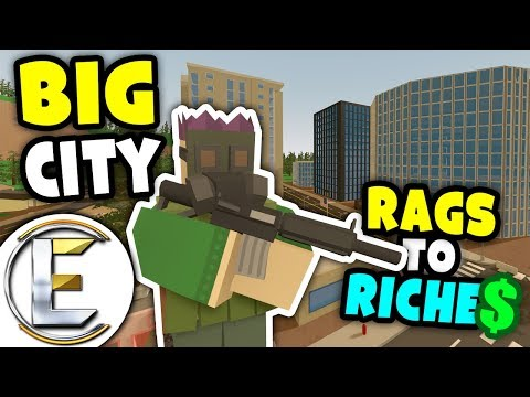 PROPERTY LADDER | Unturned Rags to Riches – NEW BIG CITY (Roleplay) #9