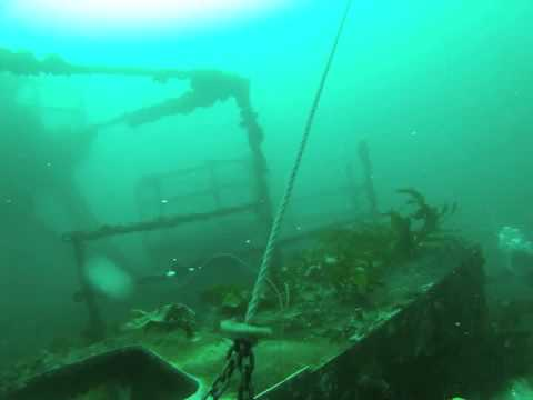 Dive on HMAS Adelaide - 26/5/2013