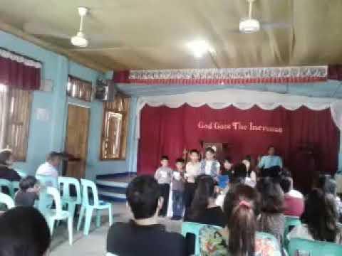 Kids choir of SBC Banga aklan