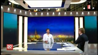 Guillaume Nery - Journal de 20h - France 2