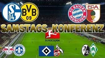 Bundesliga 26.Spieltag - Samstagskonferenz - FIFA 17 Prognose
