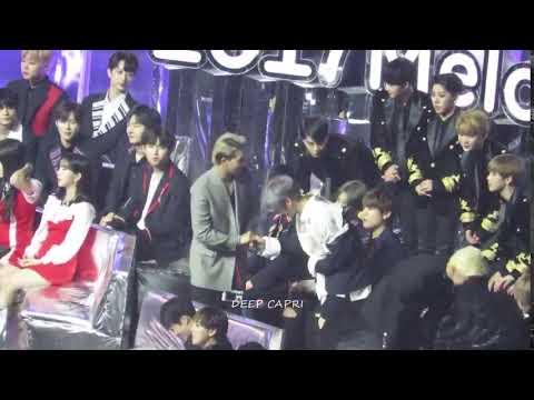 [FANCAM] 171202 Song Mino & Kang Daniel - Melon Music Awards 2017
