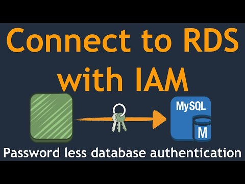 How to I authenticate to an Amazon RDS DB instance using IAM
