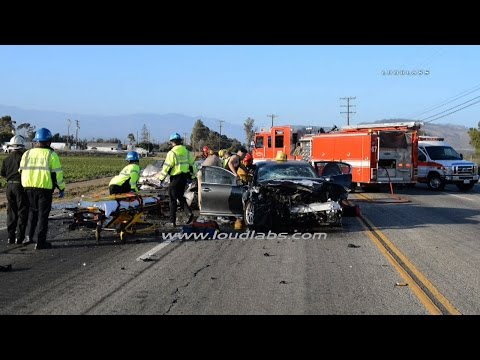 Double Fatal Traffic Collision / Oxnard  RAW FOOTAGE