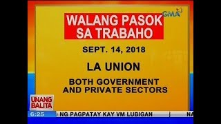 UB: Class and work suspension