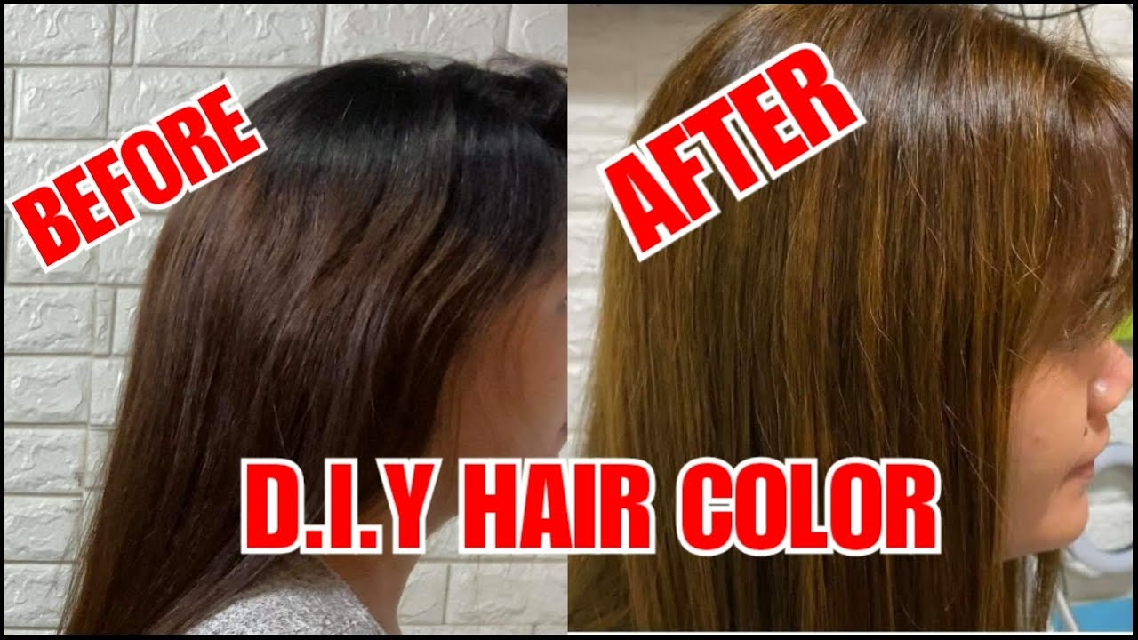 D.I.Y FULL HAIR COLOR WITH HIGHLIGHTS