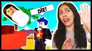 MY DAD KILLED ME& LET ME DROWN! - Roblox - ADOPT AND RAISE A CUTE KID!