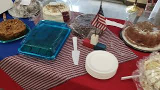 Video: Homemade desserts at the annual Public Safety Appreciation Lunch
