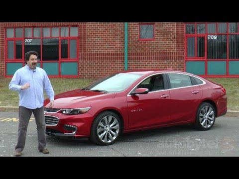 2016 Chevy Malibu 2.0T Premier Test Drive Video Review