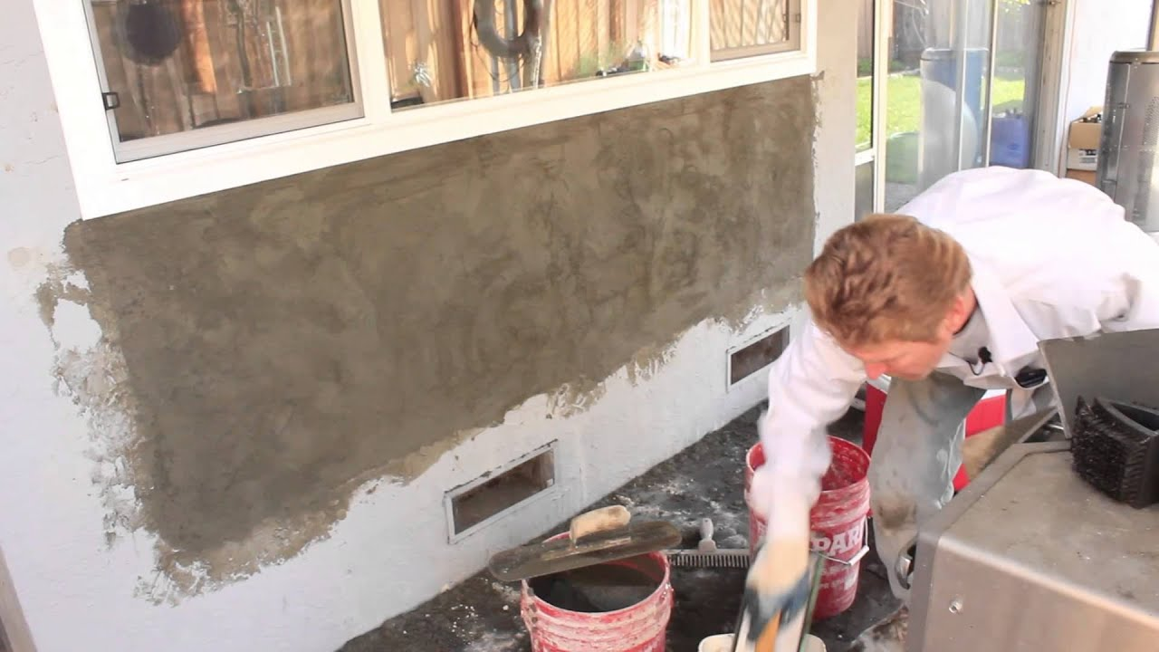 Skip Troweling Portland Cement Plaster Versus Color Coat